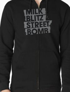 Milk.Blitz.Street.Bomb. Logo T-Shirt