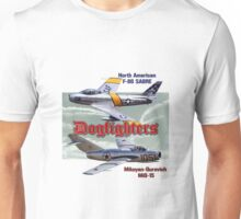 Dogfighters: F-86 vs MiG-15 Unisex T-Shirt