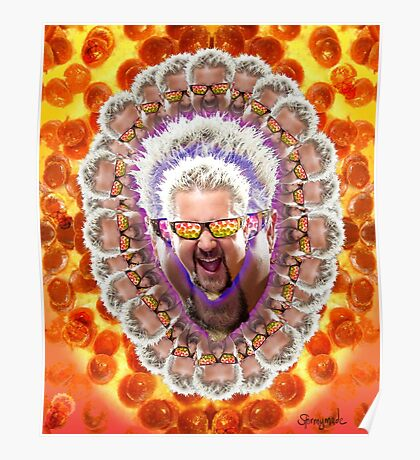 Guy Fieri's Bad Donkey Sauce Trip Poster