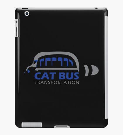 Catbus Transportation (White) iPad Case/Skin