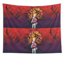 Kizumonogatari Movie Cover Wall Tapestry