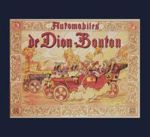 Vintage poster - De Dion Bouton Automobile Kids Clothes