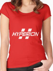 Hyperion Corporation (White) Women's Fitted Scoop T-Shirt
