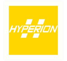 Hyperion Corporation (White) Art Print