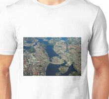 Stockholm, Sweden - Areal view by drone Unisex T-Shirt