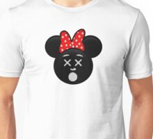 Minnie Emoji - Dead Unisex T-Shirt