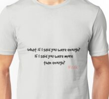 Zax Quote - Casualty Unisex T-Shirt