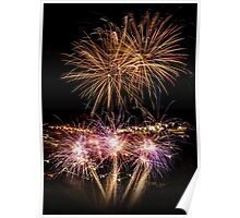 New Year Fireworks Poster