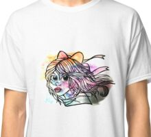 Rainbow Ribbon Little girl Classic T-Shirt