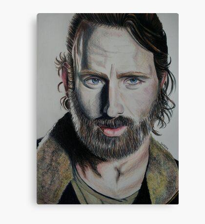 Rick TWD Canvas Print