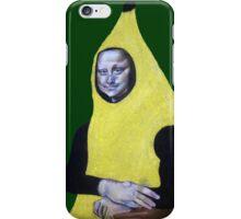 Mona Lisa Goes Bananas iPhone Case/Skin