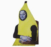 Mona Lisa Goes Bananas Kids Clothes