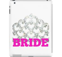Bride.  iPad Case/Skin