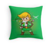 Link Ocarina Throw Pillow