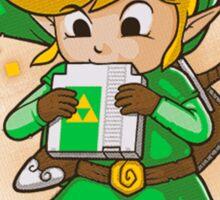Link Ocarina Sticker