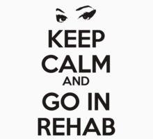 Keep Calm And Go In Rehab One Piece - Short Sleeve
