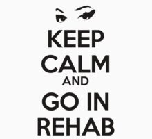 Keep Calm And Go In Rehab One Piece - Long Sleeve