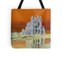 Wobbly Whitby Abbey Tote Bag