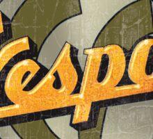 Vespa Authorized service Sticker