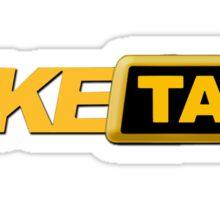 Fake favorite taxi Sticker