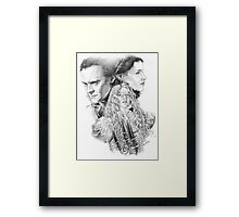 Beware of Crimson Peak Framed Print