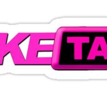 Fake Taxi faketaxi pink Sticker
