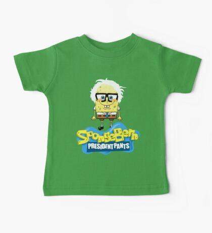Sponge Bern President Pants Baby Tee
