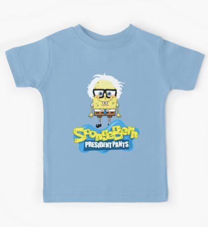 Sponge Bern President Pants Kids Tee