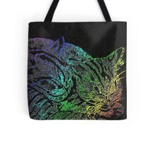 Rainbow Kittens Tote Bag