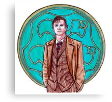 .10th Doctor. Canvas Print