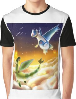 Flygon and Latios Graphic T-Shirt