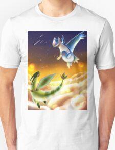 Flygon and Latios Unisex T-Shirt