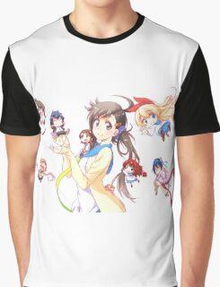 Nisekoi: Characters Graphic T-Shirt