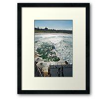 Bondi Beach icebergs Boxercise  Framed Print