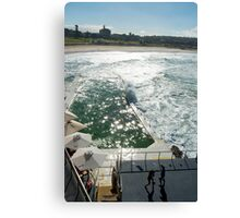 Bondi Beach icebergs Boxercise  Canvas Print
