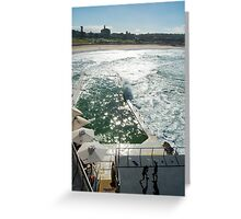 Bondi Beach icebergs Boxercise  Greeting Card