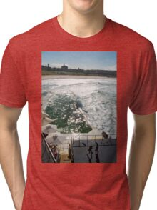 Bondi Beach icebergs Boxercise  Tri-blend T-Shirt