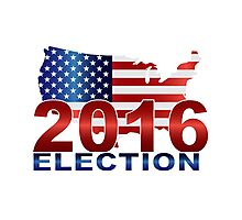 The United States presidential election 2016 Photographic Print