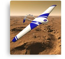 NASA ARES Drone Flying Over Mars Canvas Print