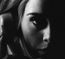 Adele - 25 - Adele Tour - Hello Sticker