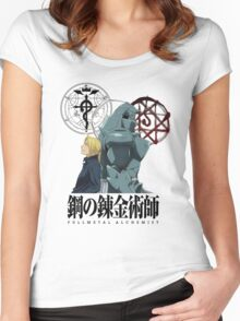 Fullmetal Alchemist Forever Women's Fitted Scoop T-Shirt