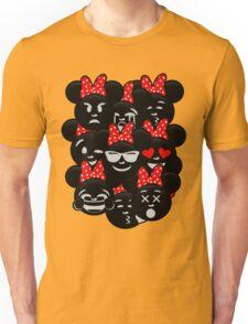 Minnie Emoji's Assortment  Unisex T-Shirt
