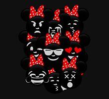 Minnie Emoji's Assortment  Womens Fitted T-Shirt