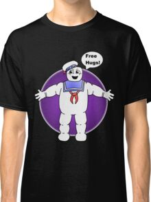 """Free Hugs From The Marshmallow Man"" Classic T-Shirt"