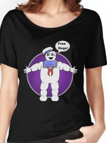 """Free Hugs From The Marshmallow Man"" Women's Relaxed Fit T-Shirt"