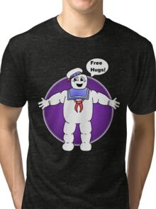 """Free Hugs From The Marshmallow Man"" Tri-blend T-Shirt"
