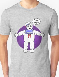 """""""Free Hugs From The Marshmallow Man"""" T-Shirt"""
