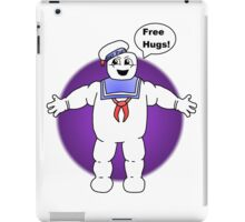 """Free Hugs From The Marshmallow Man"" iPad Case/Skin"