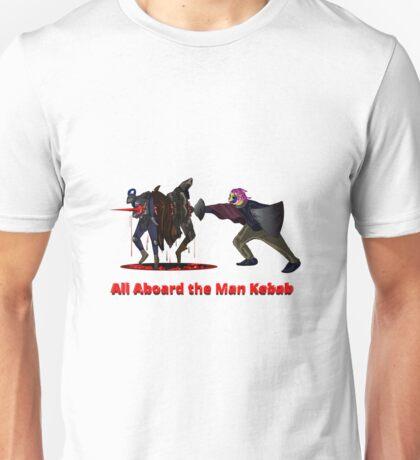 All Aboard the Man Kebab Unisex T-Shirt