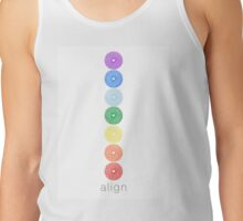 Sacred Geometry Chakra Align - Healing Collaboration Tank Top